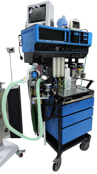 Máquina de anestecia