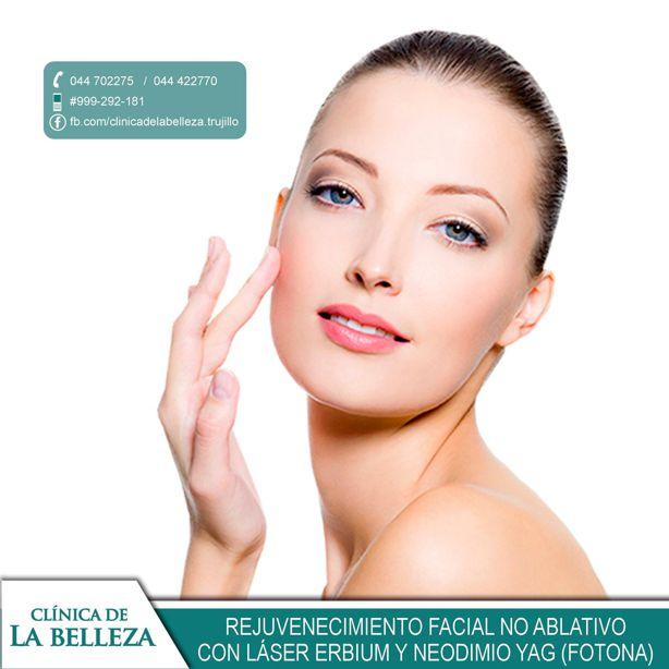 Rejuvenecimiento facial no ablativo con láser Erbium y Neodimio Yag (Fotona)